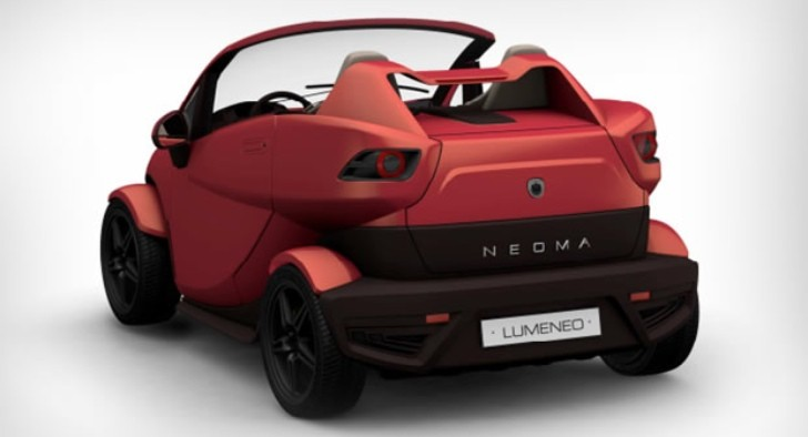 Loumeneo Neoma Roadster EV Ready for Paris Debut