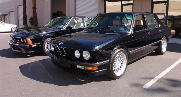 Low Mileage 1988 BMW M5 Previously Owned by Frank Gerber Up for Sale