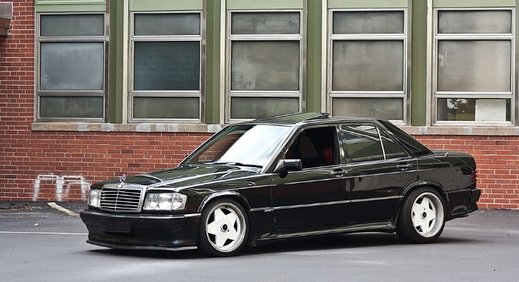 Lowered Mercedes-Benz 190 E Looks Classically Clean [Photo Gallery]