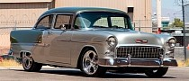 LS3-Powered 1955 Chevrolet Bel Air Is the Old Measure of Cool