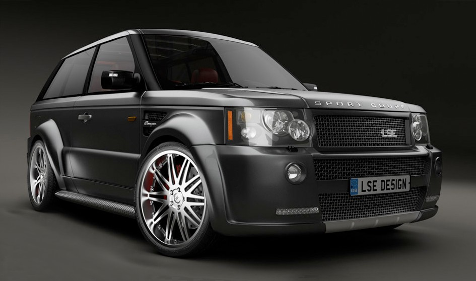 LSE Range Rover Sport Coupe To Be Unveiled At SEMA