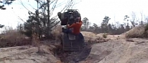 Lucky ATV Rider Involuntary Stunt [Video]
