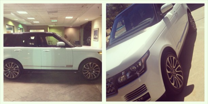 Ludacris' 2013 Range Rover Will Make You Act a Fool
