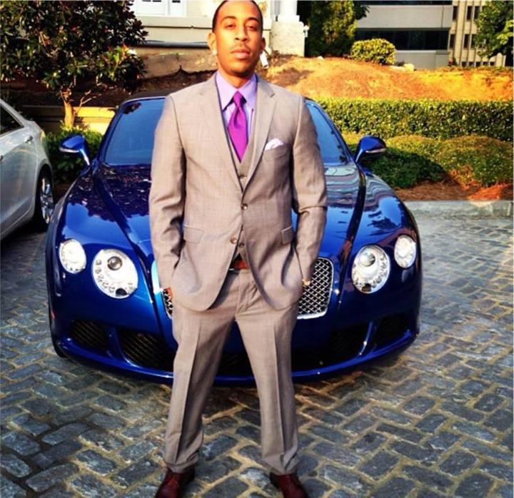 Bentley Gtc Convertible He He He: Ludacris Looks Like A Gentleman Next To His New Bentley