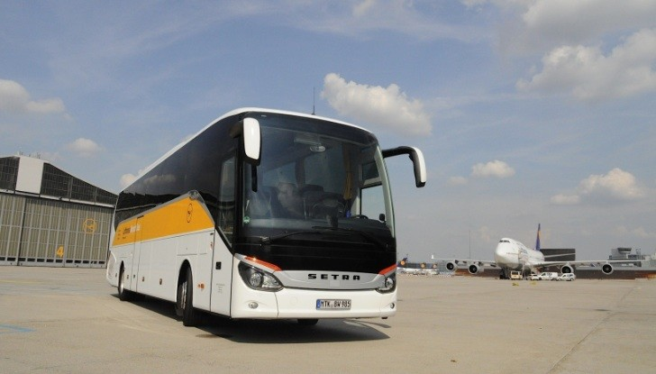 Lufthansa Chooses Setra Touring Coaches For Its Ground Fleet