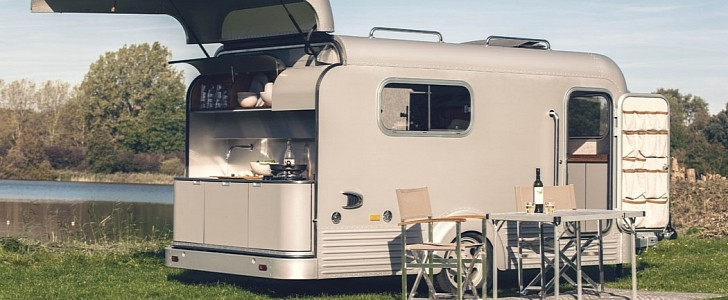 Lume Traveler Camper Lets You Sleep Under the Stars, Has Chef's Kitchen