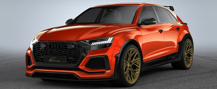 Lumma Design Turns Audi RSQ8 into Oversized Ultimate Hot ...