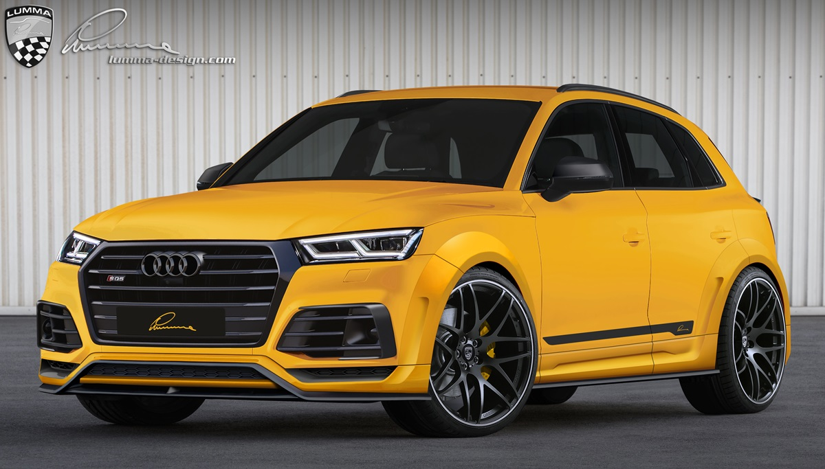 Lumma Tuned Audi Sq5 Is A Yellow Widebody Suv Called Clr 5s