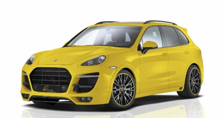Lumma Unveils New Porsche Cayenne Body Kit