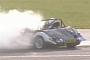 Luther Blissett Crashes Morgan Roadster at Silverstone Classic [Video]