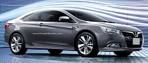 Luxgen 5 Coupe Rendering