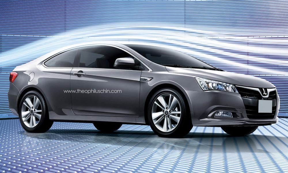 Luxgen 5 Coupe Rendering