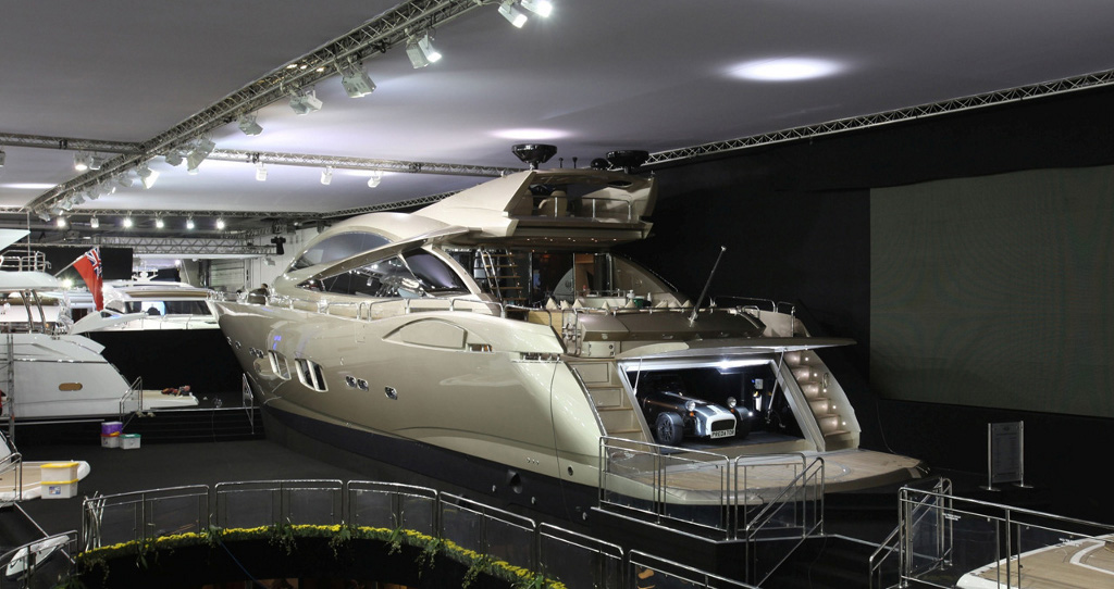 Inside luxury yachts noted for its luxurious