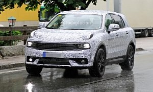 Lynk & Co 7-Seat SUV Spied, Is a Mobility Solution