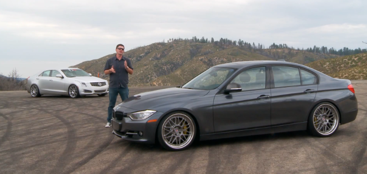 M Performance 335i vs D3 Cadillac ATS Comparison [Video]