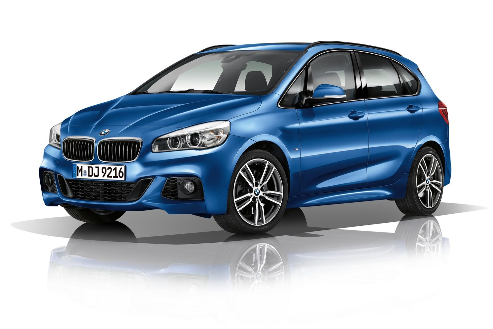 m sport bmw 2 series active tourer unveiled autoevolution. Black Bedroom Furniture Sets. Home Design Ideas