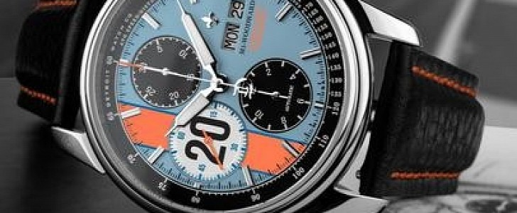 photo of M1-Le Mans Classic Chrono Takes Ford and Porsche Race Cars Righ to Your Wrist image