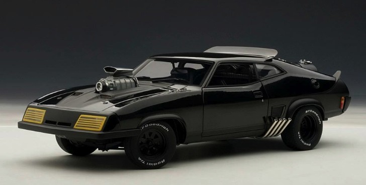 Mad Max The Road Warrior Interceptor Scale Model [Photo Gallery]
