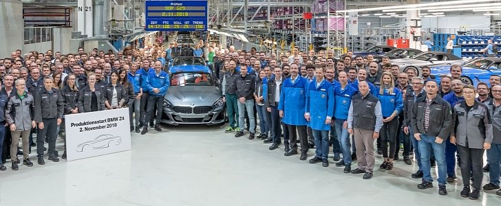 Magna Steyr Starts 2019 Bmw Z4 Production In Austria Autoevolution