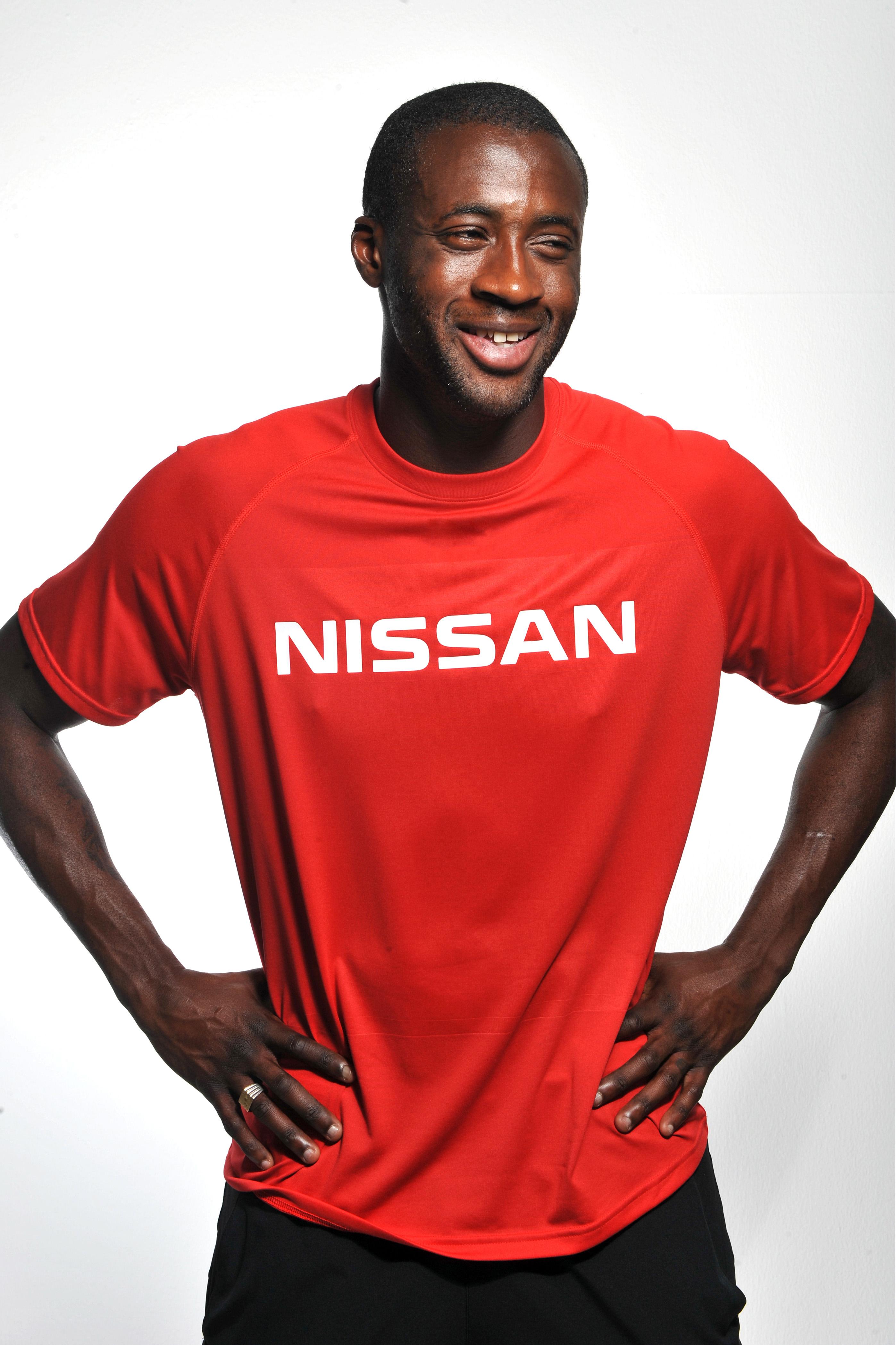 Manchester City S Yaya Toure Becomes Nissan Ambassador