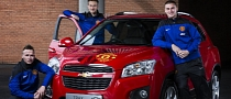 Manchester United-themed Chevrolet Trax Sold for Charity