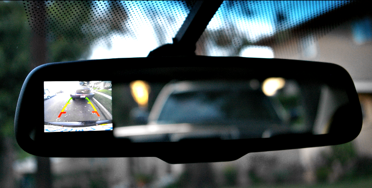 Mandatory Reversing Cameras Will  Make Sales of Automotive LCDs to Double by 2016