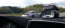 Manhart Racing BMW M6 vs Porsche 911 Turbo PDK [Video]
