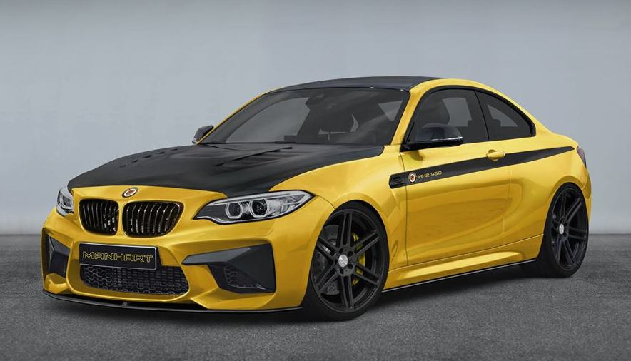 Manhart Racing Previews Its Own 450 Hp Bmw M2 Autoevolution