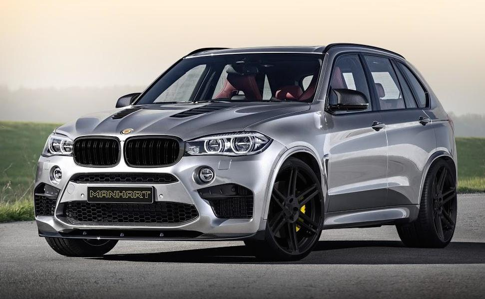 Manhart Racing S Bmw X5 M Has 750 Hp Autoevolution