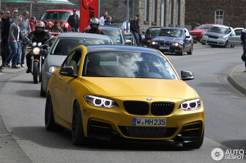 Manhart S Mh2 400 Spotted In Germany Autoevolution