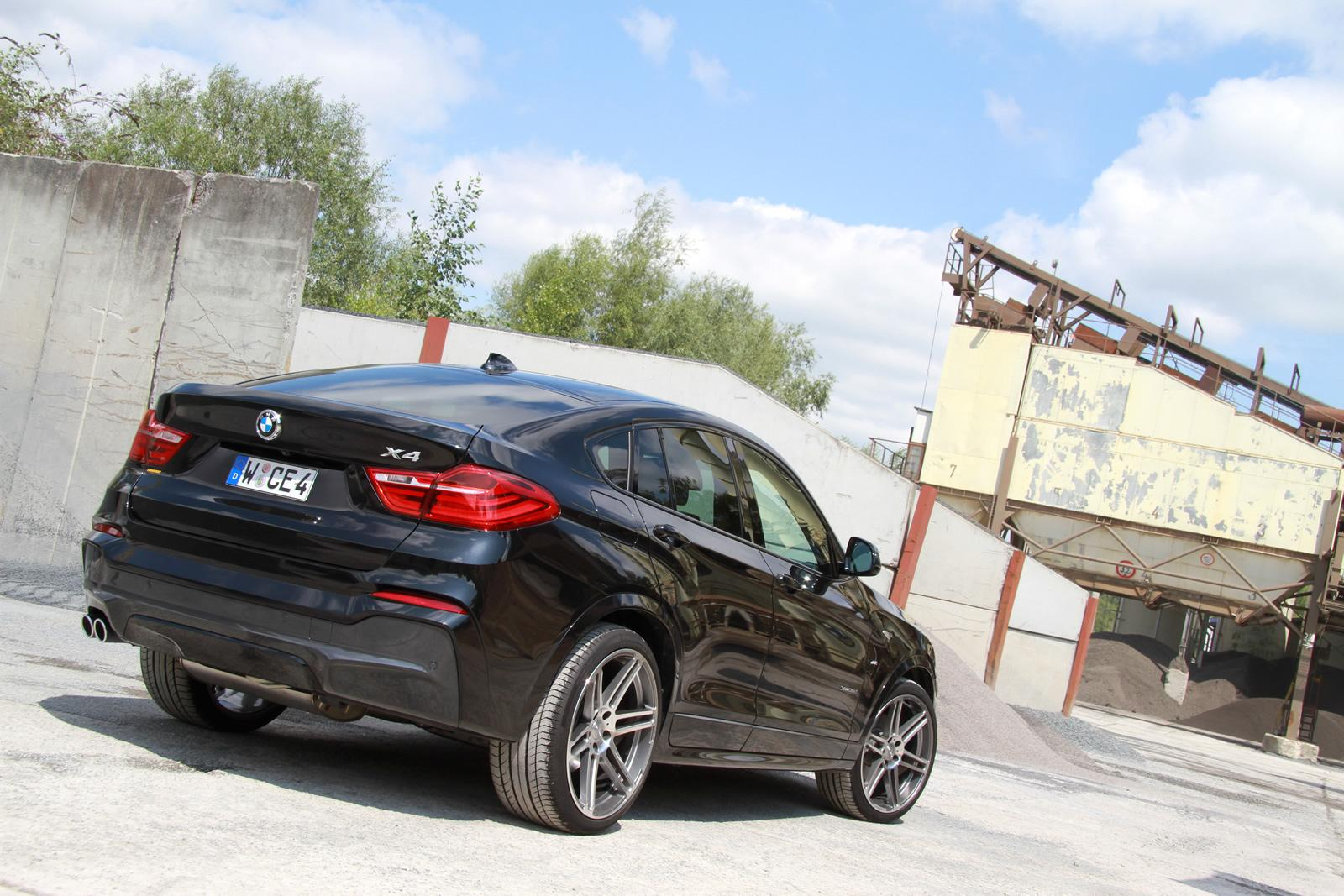 Manhart S Upgrade For The Bmw X4 Xdrive35i Takes It Up To 370 Hp Autoevolution