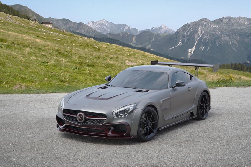 Mansory Unveils One Off Tuning Kit For Mercedes Benz Amg Gt S It S Not Bad Autoevolution