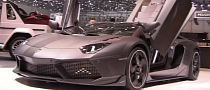 Mansory Carbonado Aventador Debuts at Geneva 2013 with 1250 HP [Video]