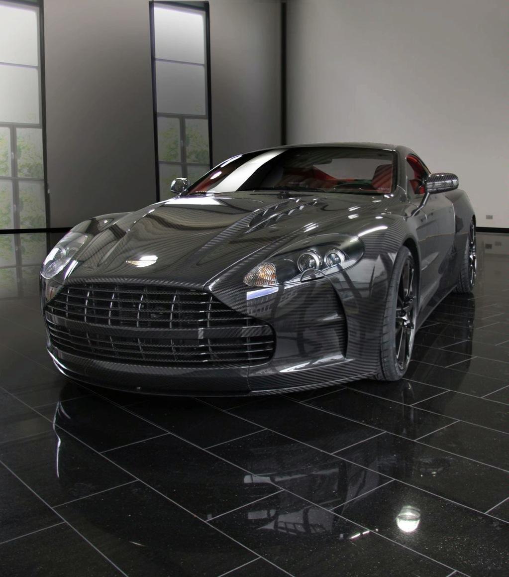 Mansory Cyrus, The Carbon Aston Martin