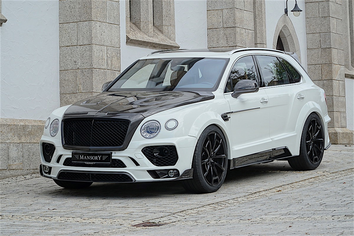 mansory has a new package for the bentley bentayga it will be at sema 2016 autoevolution. Black Bedroom Furniture Sets. Home Design Ideas