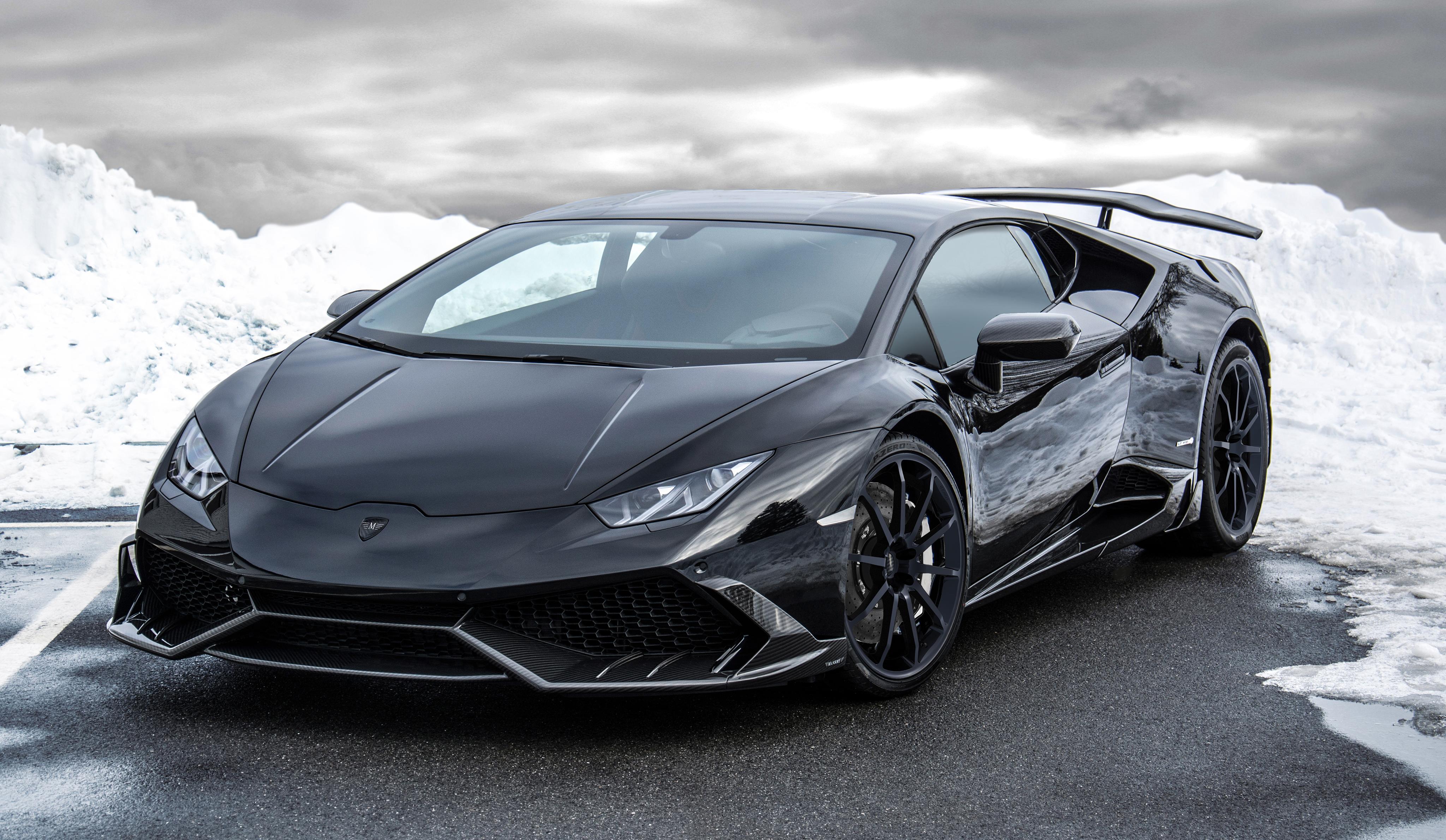 Mansory Lamborghini Huracan Is an 850 HP Carbon Fiber ...