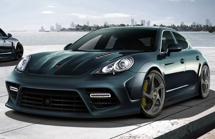 After Gemballa Were The First To Reveal Their Own Interpretation Of Porsches Latest Model Panamera Mistrale More Tuners Started Working On It