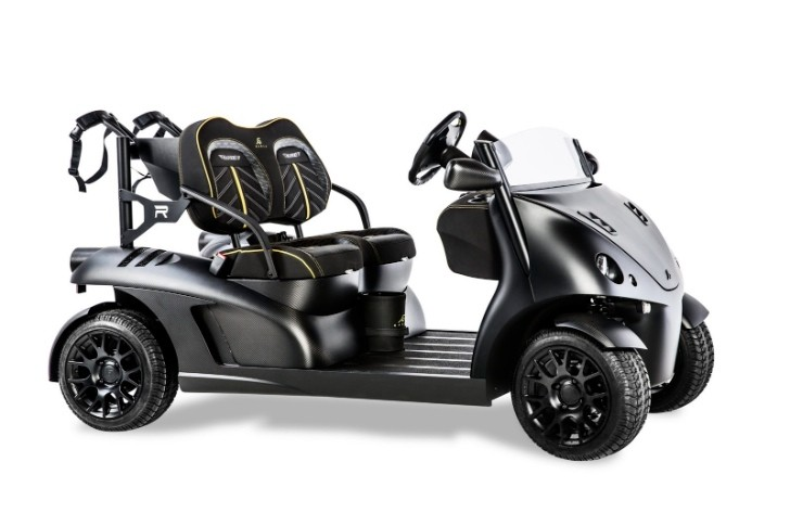 Mansory Presents a High-Performance… Golf Cart [Photo Gallery]