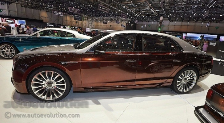 Mansory Presents Tuning Kit For Bentley Flying Spur In