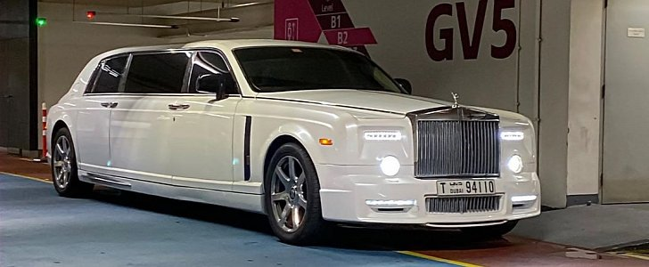 Mansory Rolls Royce Phantom Stretch Limo Is The Real Deal