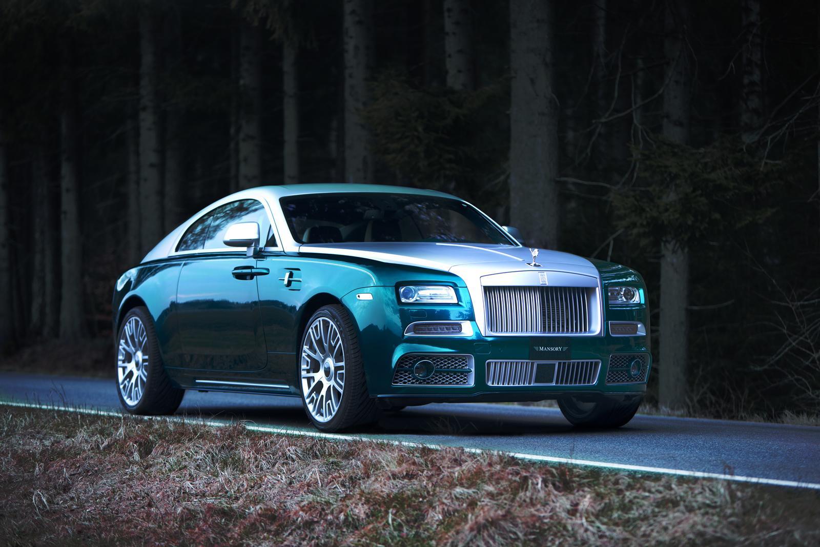 12 Photos Mansory Rolls Royce