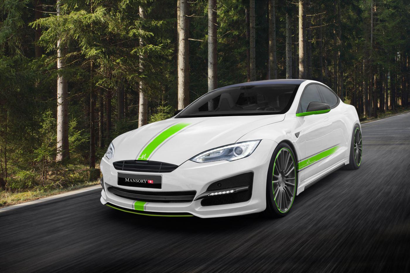 Mansory To Present Tesla Model S Tuning Kit In Frankfurt