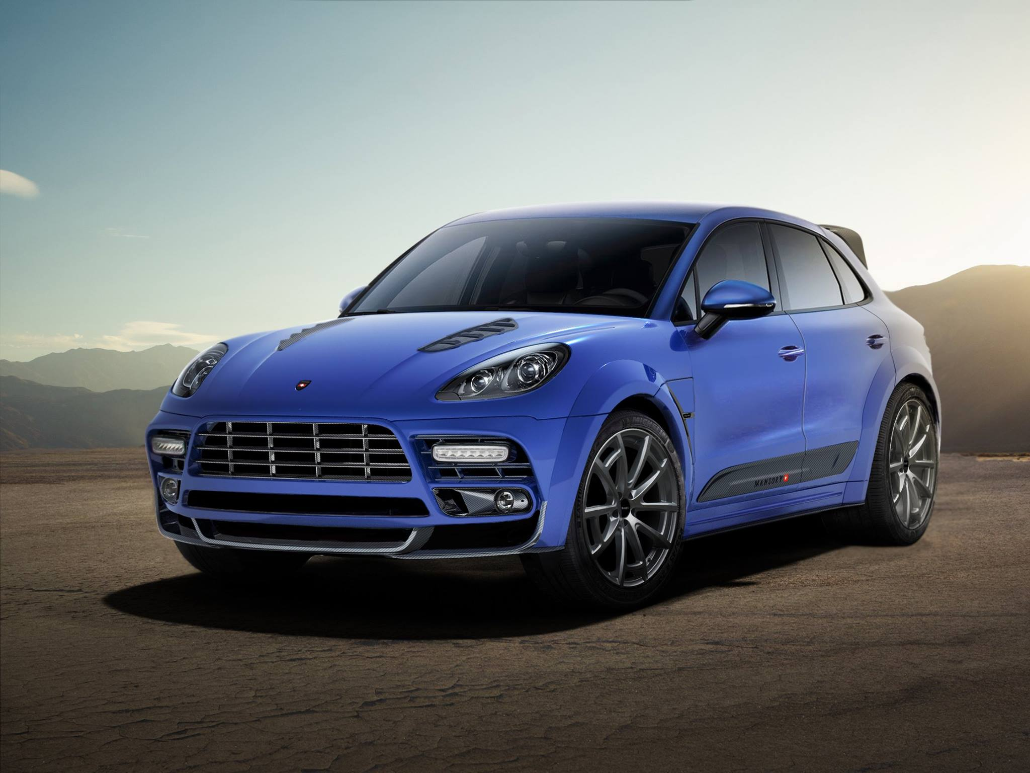 mansory touches the porsche macan suv outcome looks manly and ugly at the same time autoevolution. Black Bedroom Furniture Sets. Home Design Ideas