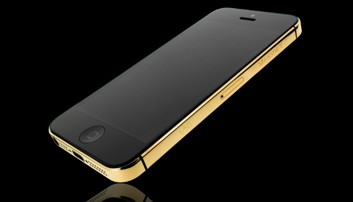 Mansory Tunes an iPhone 5 with Gold