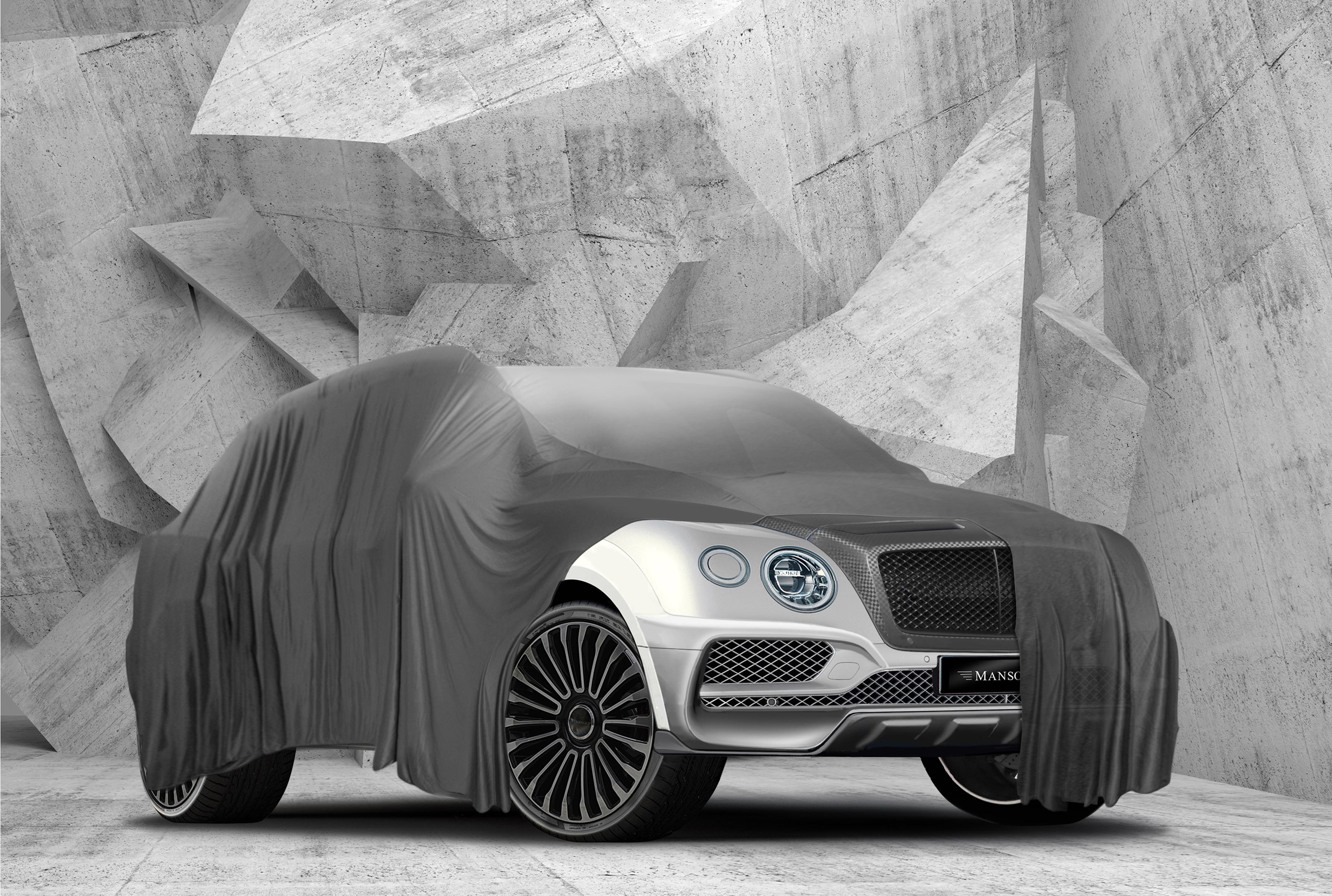 Mansory Unveils First Image Of Bentley Bentayga Tuning Package Autoevolution
