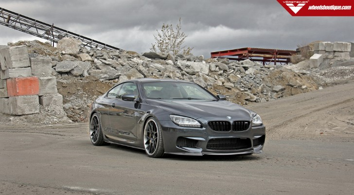 Manual BMW F13 M6 Is Decked with Vorsteiner Parts [Photo Gallery]