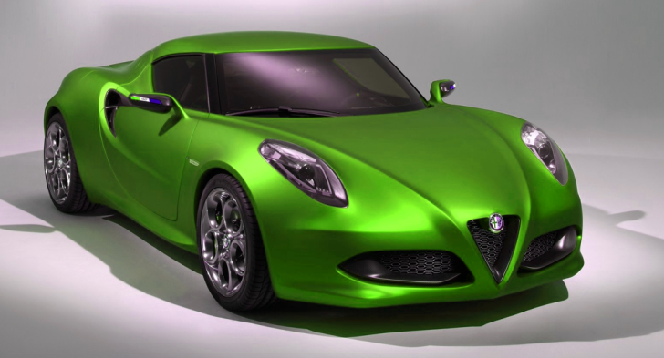 Alfa Romeo 4c >> Marchionne: Alfa Romeo 4C to Arrive in US by End of 2013 - autoevolution