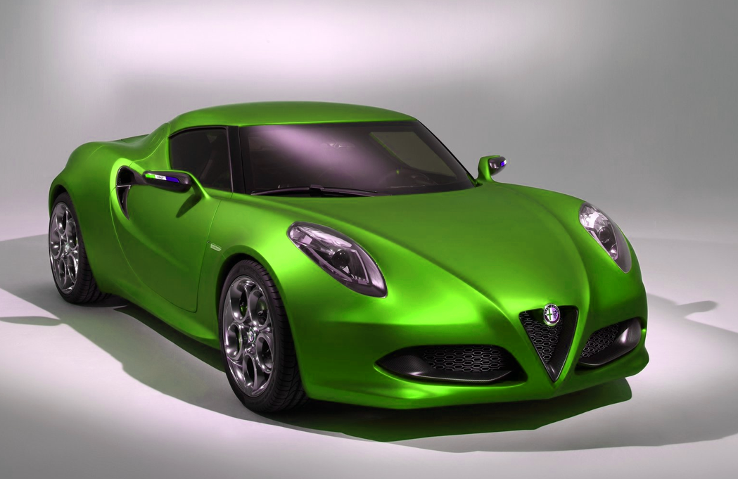 marchionne: alfa romeo 4c to arrive in usend of 2013