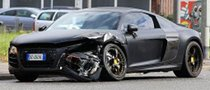 Mario Balotelli Crashes His Audi R8