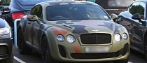 Mario Balotelli's Camouflaged Bentley Is Ugly